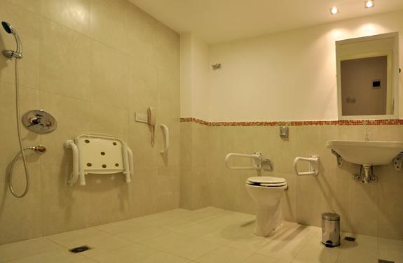Diseno Baño Discapacitados:Habitación Discapacitados