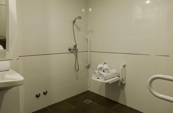 Habitación accesible para Discapacitados