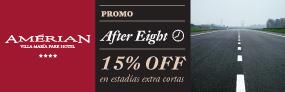 Promo After Eight en Amérian Villa María