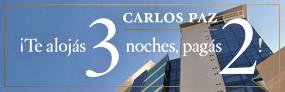 3x2 en Carlos Paz