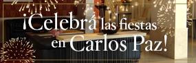 Celebra las Fiestas en Carlos Paz