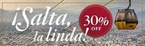 30% de Desconto em Salta