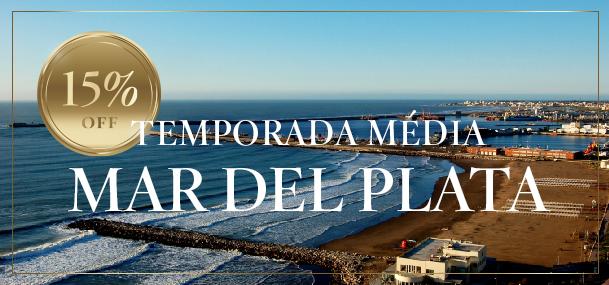 15% Off em Mar del Plata