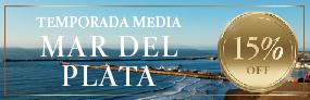 15% Off en Mar del Plata