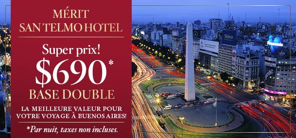 Super Taux Mérit San Telmo Hotel