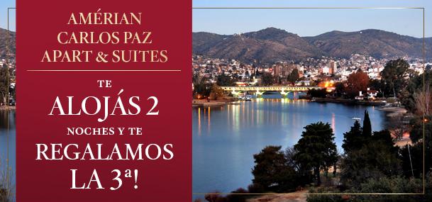 3x2 en Amérian Carlos Paz