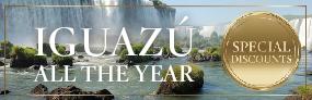 Special discounts in Iguazú