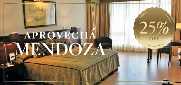 Aprovechá Mendoza con un 25% OFF