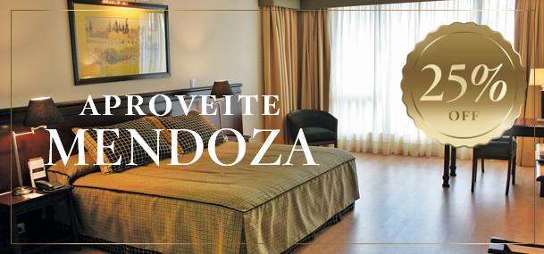 Aproveite Mendoza com um 25% OFF