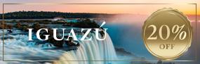 Dezembro em Iguazú com um 20% OFF