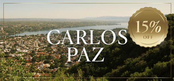 Carlos Paz 15% OFF
