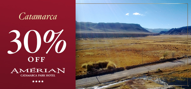 30 % OFF em Catamarca
