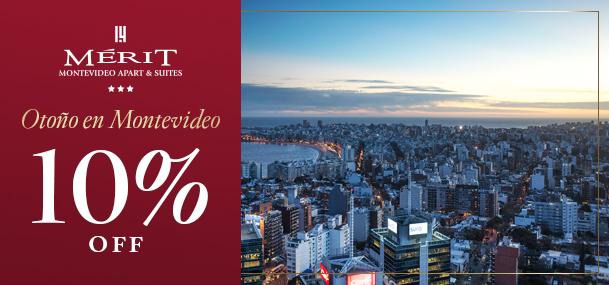 10% OFF en Montevideo