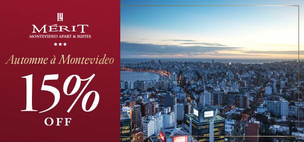15% OFF dans Montevideo